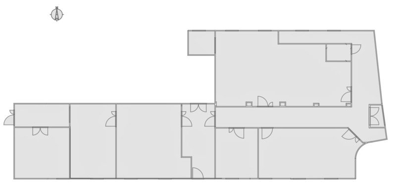 Hackspace 2.5 Map Showing Rooms
