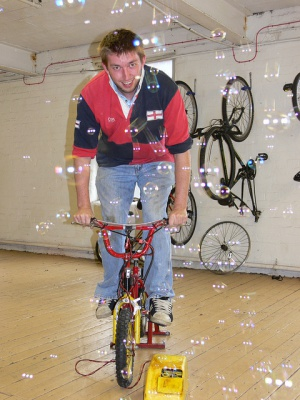 Pedal-powered-bubbles-on-open-day-2011.jpg